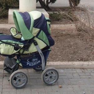 Продаётся детская прогулочная коляска RIKO зима-лето.
