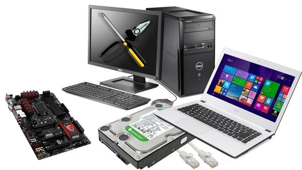 Ремонт и настройка компьютеров 3