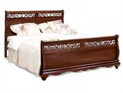 Кровать Оскар ручной работы в спальню Новая
